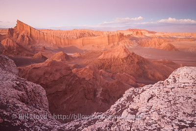 Sunset from Los Araches, Valle de la Luna.